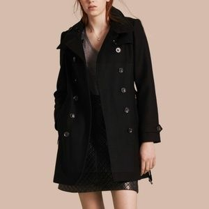 Burberry belted wool trench